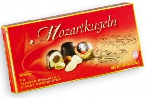 Моцарт марципан в шоколаде