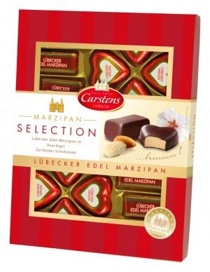 Любекский марципан в темном шоколаде 200г